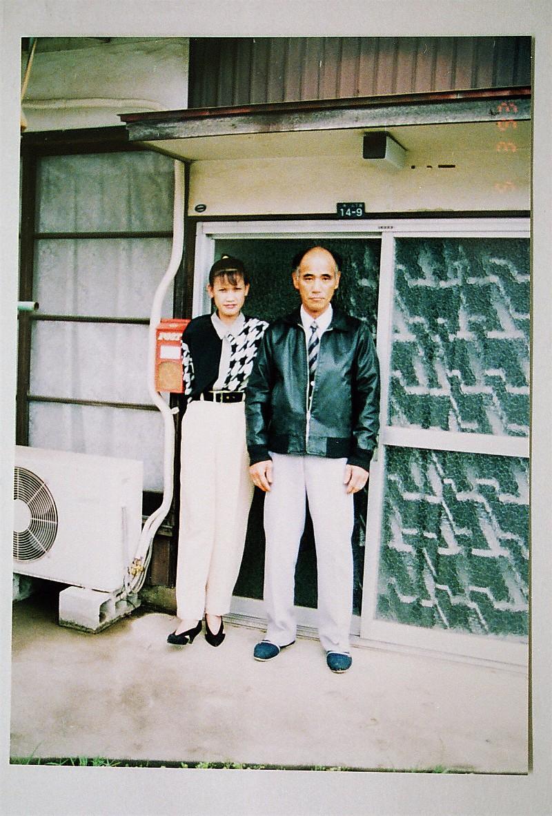 写真5‐6 平成5年5月ころの佐藤の革ジャンパー